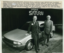 1983 GM Introduces the Saturn brand