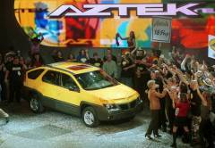 Pontiac Aztek Race Intro Party Auti Show Reveal
