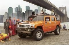 GM HUMMER takes Manhattan