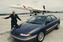 1992 Lee Iacocca Introduces the Concorde