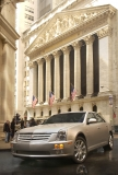 New Cadillac at New York Stock Exchange