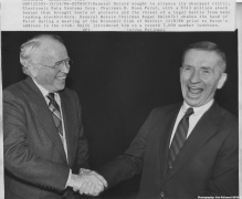 Ross Perot and Roger Smith