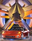 Corvette C6 in Wind Tunnel