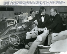 Bruce Jenner and Ford's CEO Don Petersen