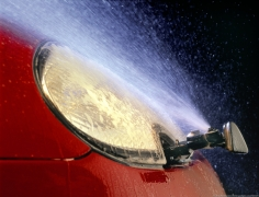 Jaguar Headlight Washer
