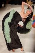 Supermodel Coco Rocha closes for Christian Siriano NYFW SS20.