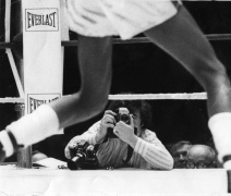 Title Fight at Madison Square Garden 1975