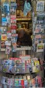 Newspaper stand in Paris