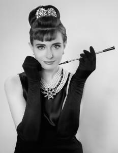 Nicole as Audrey Hepburn by: Joe Polimeni
