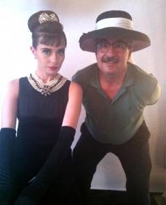 """Joe Polimeni & Nicole as Audrey Hepburn"""